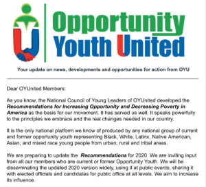 OYUnited: WE NEED YOUR VOICE!